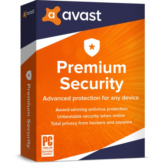 Avast Premium Security - Retail BOX
